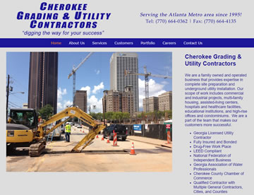 Cherokee Grading & Utility Contractors – Digging the Way for Your Success