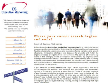 CS Executive Marketing – A Talent and Career Management Firm