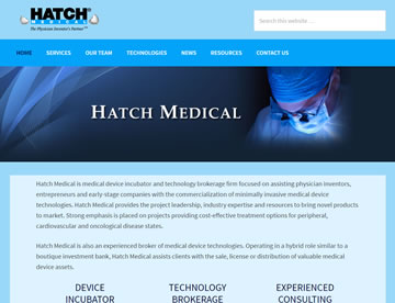 Hatch Medical – A Medical Device Incubator and Technology Brokerage Firm