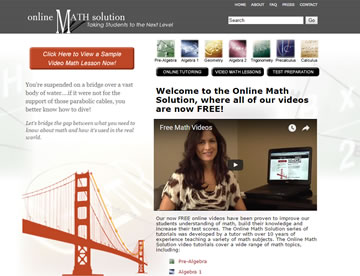 Online Math Solution – Taking Students to the Next Level
