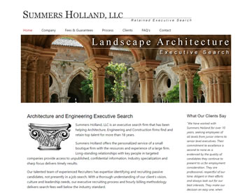Summer Holland, LLC – An Executive Search Firm Specializing in Architecture, Engineering and Construction